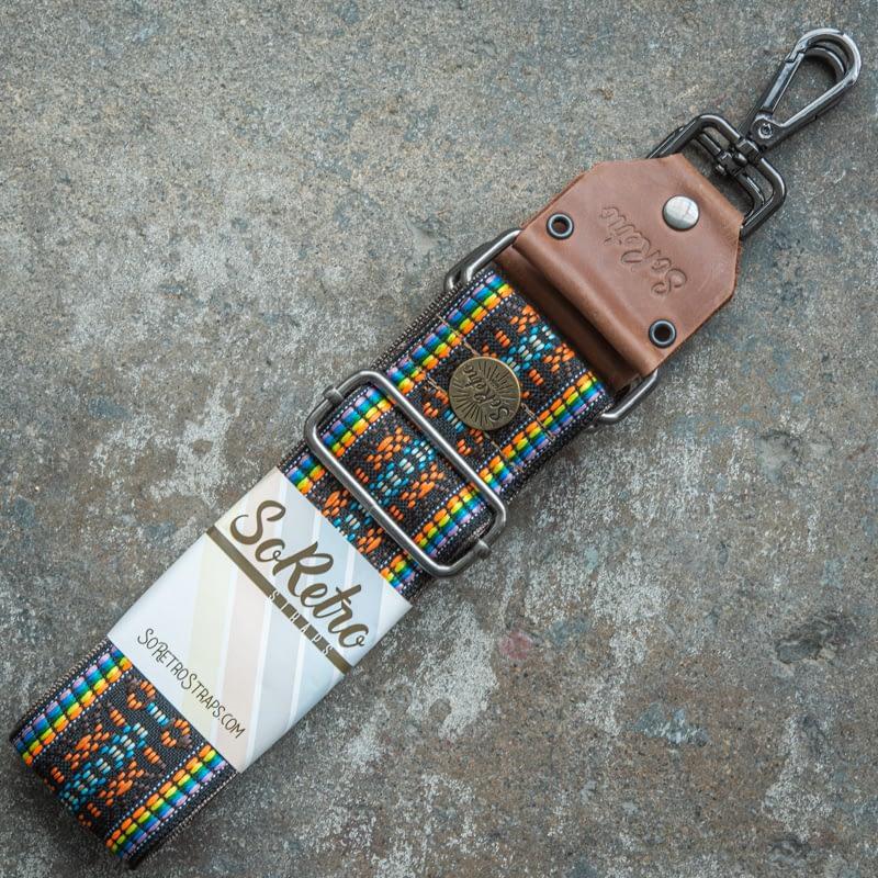 Rainbow Bits - Bag or Camera Strap