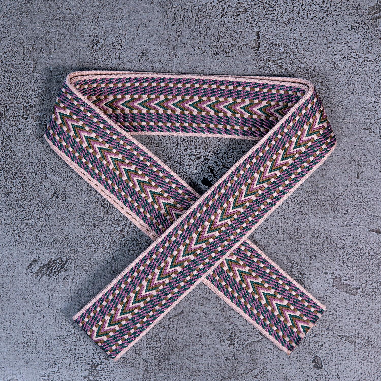 SoRetro Arrows Series - Purple Lemonade Dark - Bag or Camera Strap