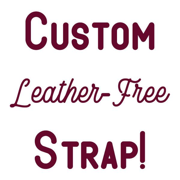 Leather Free Custom Bag or Camera Strap