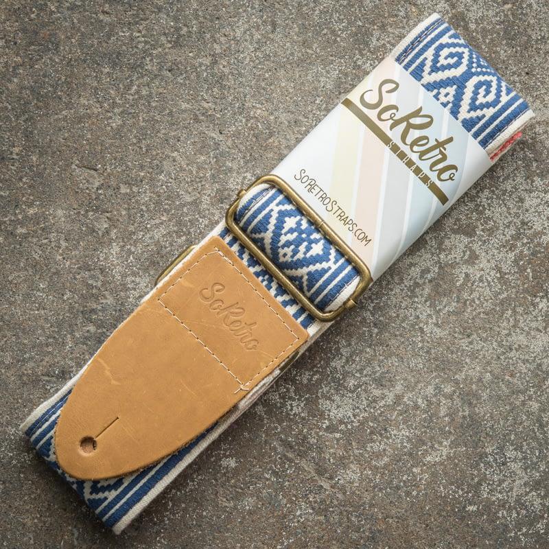 Blue Lace - Guitar Strap