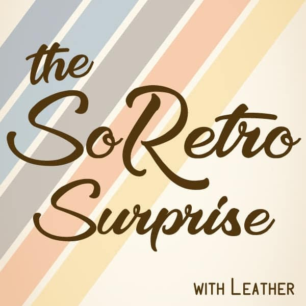 The SoRetro Surprise - Bag or Camera Strap with Leather Ends