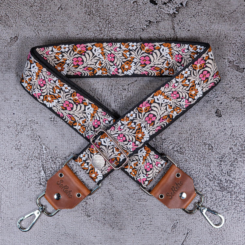 Spring Wildflowers - Bag or Camera Strap