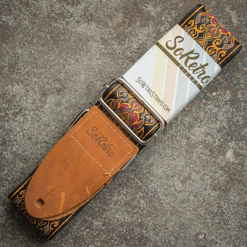Copper Falls - Guitar Strap