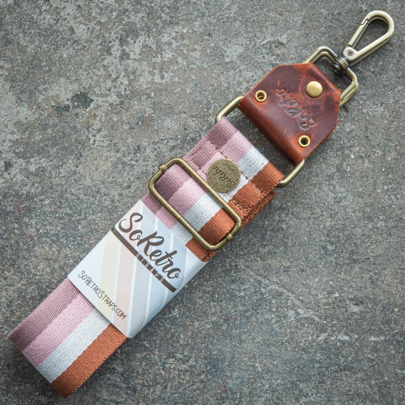 Neopolitan Stripes - Bag or Camera Strap