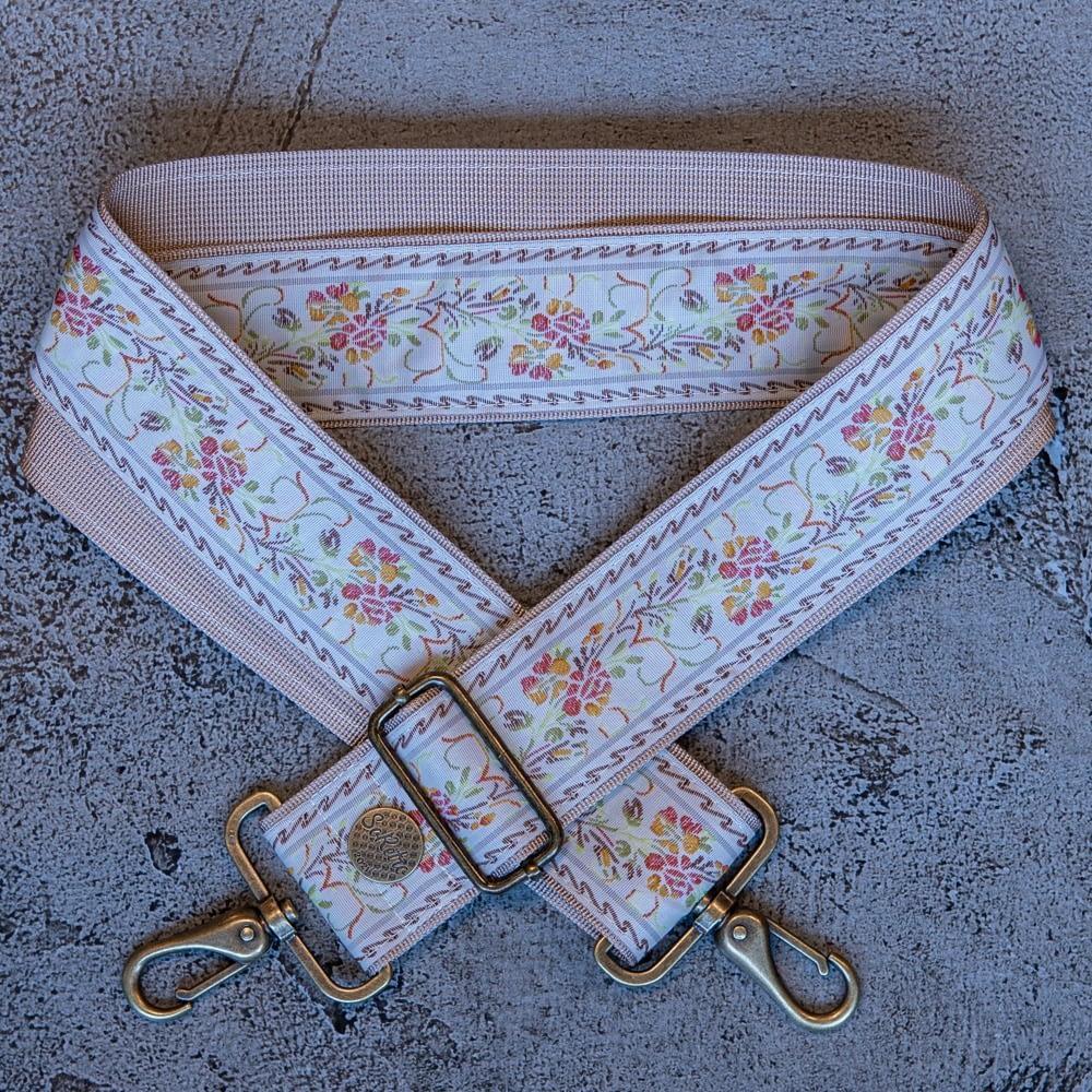 Princess Peony - Leather Free Bag or Camera Strap