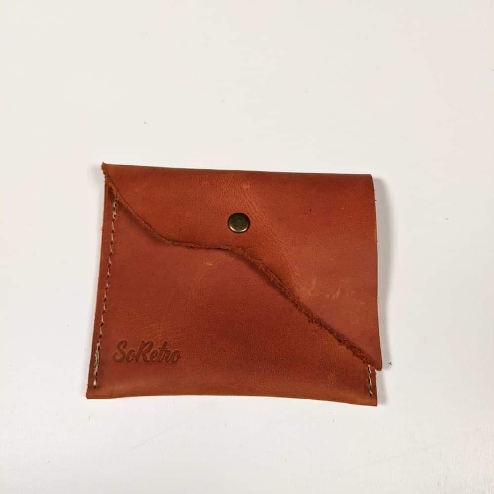 SoRetro Elberta Orange Pouch - March 2021