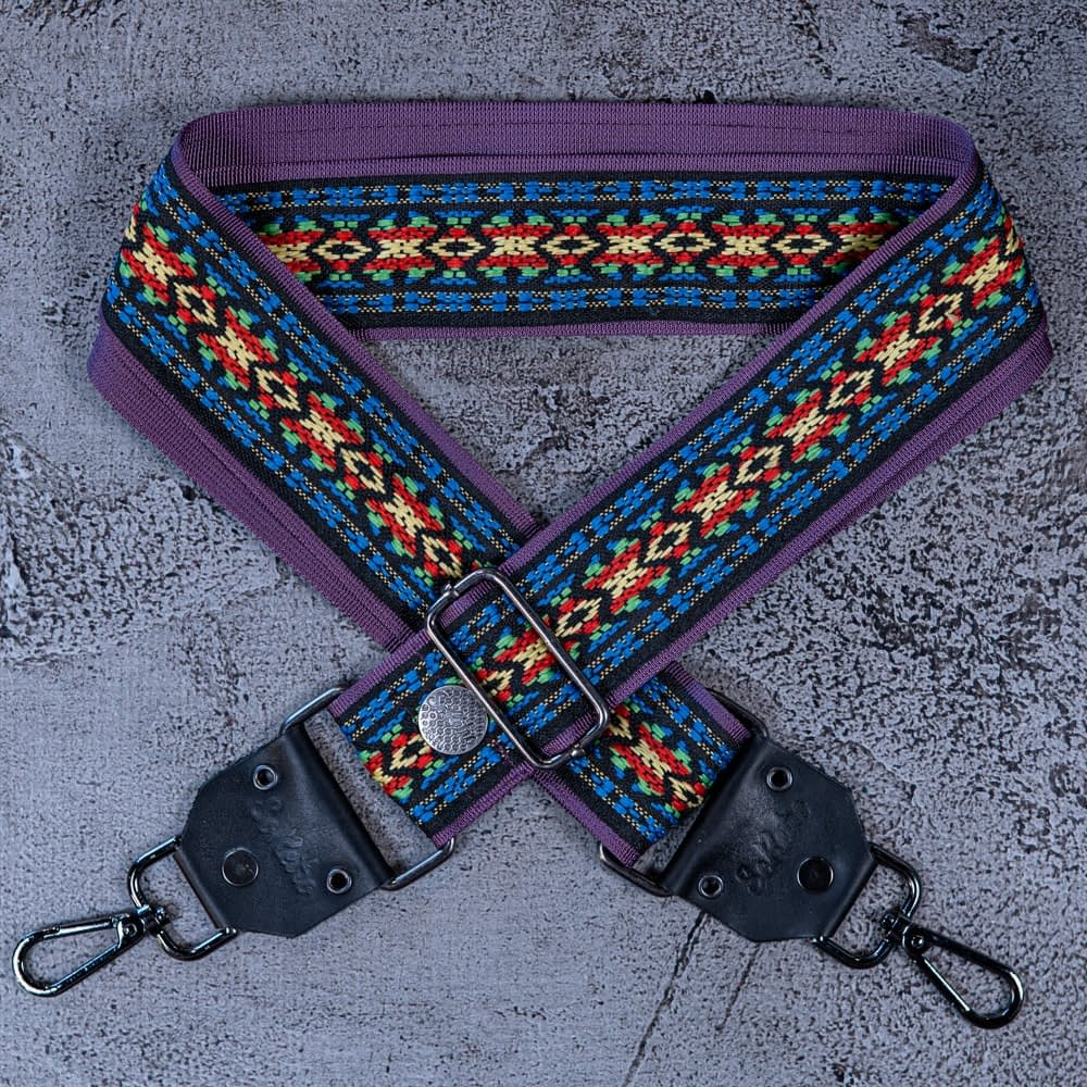 Rainbow Roads - Bag or Camera Strap